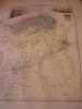 CARTE GEOGRAPHIQUE PROVINCE D'ORAN, D'après la carte de Cassini , du dépot de la guerre , des ponts et chaussées et de la marine par M. VUILLEMIN.. ...