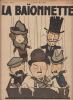 la baionnette N°194, 20 Mars 1919,dans le petrin les profiteurs. COLLECTIF