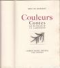 Couleurs. Contes avec des gravures de J.-E. Laboureur.. Gourmont (Remi De), Laboureur (J.-E.)- Jean-Emile LABOUREUR