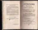 Astronomie pratique. Usage et Composition de la Connaissance des Tems. Ouvrage destiné aux Astronomes, aux Marins et aux Ingenieurs.. FRANCOEUR, L.B.