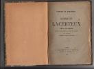 Germinie de Lacerteux. Pièce en dix tableaux. Précédée d'un prologue et suivie d'un épilogue. Tirée du Roman d'Edmond et Jules de Goncourt. Goncourt, ...