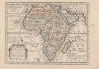 L' AFRIQUE Dressée suivant les Auteurs les plus nouveaux et sur les Observations de Mrs. de l'Academie Royale des Sciences- Carte gravée d'époque ...