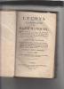 Leçons élémentaires de mathématiques,par M. l'abbé La Caille,... 5e édition, avec de nouveaux éléments d'algèbre, de géométrie... par M. l'abbé Marie. ...