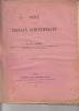 Notice sur les travaux scientifiques de M.Emile Borel avec le Supplément (1921) à la notice (1912) sur les travaux scientifiques de M. Émile Borel.. ...