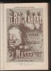 Le Roi de Lahore. Opéra en 5 Actes de Louis Gallet. Partition Chant et Piano.Académie Nationale de Musique.. MASSENET, Jules (1842-1912 - Louis ...