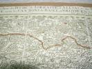 Carte topographique d'Allemagne contenant une partie du duché de Lorraine, d'Allsas : et du margraviat superieur de Baaden Durlach, l'evecé de Basel, ...