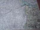 Carte géographique : Carte Topographique d'Allemagne Contenant une Partie de Baviere, les Principautés de Wurtemberg, d'Oettingen, les Evechés ...
