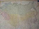 Carte de l'Empire de Russie & de la Grande Tartarie dressee avec soin par F. L. Gussefeld & publiee par les Herit. de Homann, l'an 1786. Empire de ...