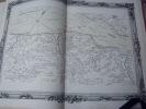 BRION DE LA TOUR  L . Partie de la Bretagne. (7). carte coloriée encadrée d'une belle bordure gravée. BRION DE LA TOUR  L .