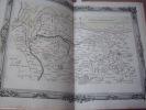 BRION DE LA TOUR  L .Partie de la Normandie. (9) . carte coloriée encadrée d'une belle bordure gravée. BRION DE LA TOUR  L .
