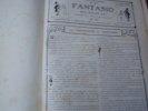 Fantasio, magazine gai,paraissant le 1er et le 15 de chaque mois, tomes 1 à 4.Tête de collection de ce journal satirique et humoristique dont les ...