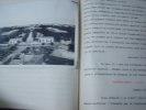 DIX MOIS AU MAROC OU MON SERVICE MILITAIRE 1932 - 1933, tapuscrit original illustré . MAROC SERVICE MILITAIRE 1932 - 1933,