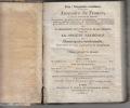 ANNUAIRE DE FRANCE,1833.  STATISTIQUE GENERALE ET COMPAREE, DU TERRITOIRE, DES PRODUITS DU SOL, ANIMAUX, VEGETAUX, MINERAUX, DE LA CULTURE, DE ...