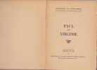 Paul et Virginie .... Henri Bernardin de Saint-Pierre; Claude Delaunay