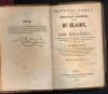 Nouveau Manuel Complet du Blason, ou Code Heraldique, Archeologique et Historique, avec un Armorial de l'Empire, une Genealogie de la Famille ...