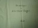 Titres scientifiques du docteur Amand BEAUPOIL ,album de documents originaux ,manuscrits, biographie médicale,diplome. Amand BEAUPOIL