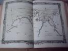 BRION DE LA TOUR  L .  Partie de la BRETAGNE. (20). carte coloriée encadrée d'une belle bordure gravée. BRION DE LA TOUR  L .