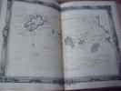 BRION DE LA TOUR  L .  Partie de la BRETAGNE. (23). carte coloriée encadrée d'une belle bordure gravée. BRION DE LA TOUR  L .