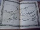 BRION DE LA TOUR  L .  Partie de la BRETAGNE. (24). carte coloriée encadrée d'une belle bordure gravée. BRION DE LA TOUR  L .