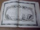 BRION DE LA TOUR  L .  Partie de la BRETAGNE. (34). carte coloriée encadrée d'une belle bordure gravée. BRION DE LA TOUR  L .