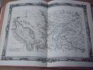 BRION DE LA TOUR  L .  Partie de l'AUNIS et de la SAINTONGE. (39). carte coloriée encadrée d'une belle bordure gravée. BRION DE LA TOUR  L .