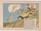 Caricature Code de la route : Article XXIII : ORGANES DE FREINAGE.