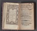 Poésies philosophiques et descriptives des auteurs qui se sont distingués dans le dix-huitième siècle.TOMES 1 et 2 en un volume.. Michel de ...