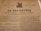 Repos de la France. - Lithographie originale.. Honoré Daumier (1808-1879).
