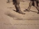 DIEU DE DIEU (CORNEBLEU) GENERAL ! lithographie originale. Traviès de Villers,Charles Joseph