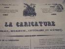 AH! DOCTEUR lithographie originale. Traviès de Villers,Charles Joseph