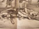 Quel Rêve ! - Lithographie originale en noir sur Velin blanc.pl.double. Traviès de Villers,Charles Joseph