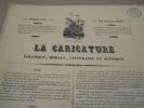 Cérémonie des cendres politiques. (Suite)  Lithographie, Coloriée -. Grandville & E.Forest.-