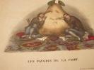 Les favoris de la poire  Lithographie originale en couleur sur Velin blanc.. Bouquet, Auguste (Abbeville, 13–09–1810 - Lucques (Lucca), 21–12–1846), ...