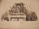 Ecce homo - Lithographie originale en noir sur Velin blanc.. Auguste Bouquet,