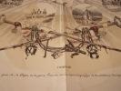 Quatre ans de règne - Lithographie originale en partie en couleur sur Velin blanc.planche quadruple. Philipon, Charles (Lyon, 19–04–1800 - Paris, ...
