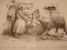 Encore une fois… Madame, voulez vous ou ne voulez vous pas divorcer, vous êtes parfaitement libre (IFF 43).Lithographie originale en noir sur Velin ...
