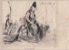 Prédiction Proudhon - Croquades politiques (Titre de l'ensemble) - Lithographie. Cham (Amédée Charles de Noé, dit)