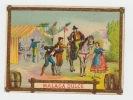 ancienne étiquette vin MALAGA DULCE -  Etiquette coloriée scene tauromachie - litho originale fin XIXe,.