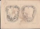 Differentes pensées d'ornements arabesques a divers usages divisé en deux partie A et B ...lot de feuillets de planches gravées sur cuivre : eau-forte ...