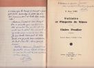 Voltaire et Pimpette de Nimes. Claire Pradier.. FABRE Marcel.