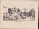 Voitures publiques en Angleterre lithographie. Lami E.
