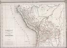 PEROU et BOLIVIA, carte. Duvotenay,