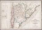 ARGENTINE,CHILI carte. Duvotenay,
