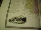 Carte du Département de la MEURTHE avec vue de Nancy  dréssée par Donnet. DONNET ,FREMIN et LEVASSEUR ou DONNET and MONIN