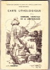 carte lithologique de la bordure orientale de la Mediterranée au I/500 000 en 2 feuilles. DUBERTRET L.
