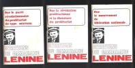 Citations du camarade Lenine.. LENINE