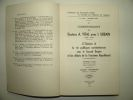 Correspondance du Dr A. Vital avec I. Urbain, 1845-1874. Nouschi André (éd.)
