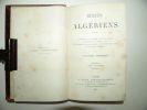 Récits algériens. Edition originale.. PHARAON Florian