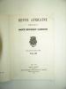 Revue Africaine publiée par la Société Historique Algérienne. Numéro 69. Collectif