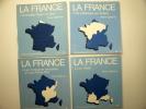 La France. Tomes 1 à 4. Complet. ESTIENNE Pierre